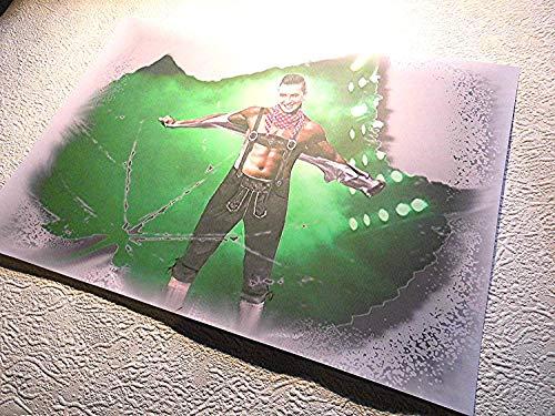 Andreas Gabalier-ein klasse Kunstdruck -direkt vom Künstler 30cm x42cm