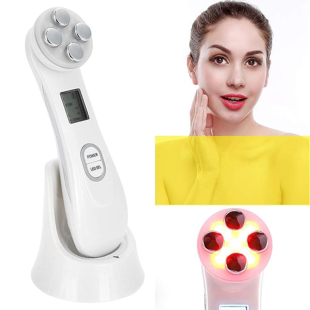 繊細繊細柔和美容機器、多機能顔、マッサージャー、首、アンチリンクル、引き締まった肌、スキンケア、引き締まった肌スキンケアツール、ツールを削除