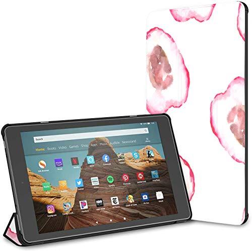 Custodia per tablet Chinese Delicious Lychee Fire Hd 10 (9a settima generazione, versione 2019 2017) FireHdFire10Custodie perKindleFire Auto Wake Sleep per tablet da 10,1 pollici