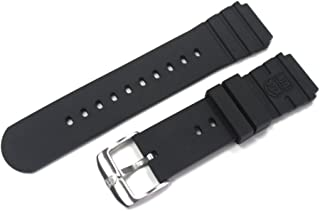 Genuine Luminox FP.L.DPB Rubber Band for NAVY SEAL-Black fits Series 1 2 3100 3200 3400 3600 3900