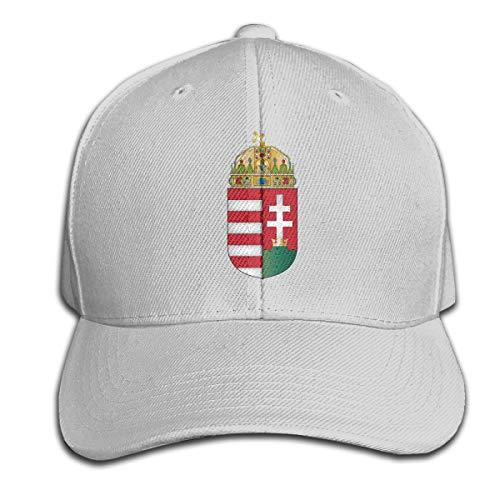 Johnson hop Wappen von Ungarn Einstellbare Basketballkappe Schirmmütze Herren Damen Fitness Unisex