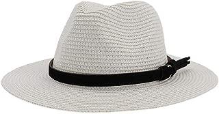 Bin Zhang New Summer Hat Panama Hats Hollow Out Straw Hat For Men Women Leather Ribbon Large Brim Sun Beach Hat Jazz Cap Fedora