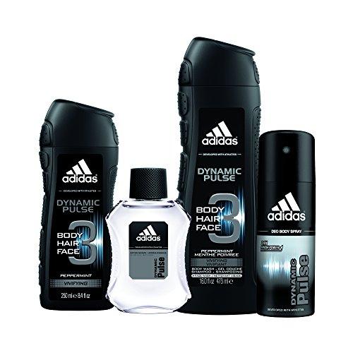 Adidas Fragrance Dynamic Pulse 4 Piece Gift Set