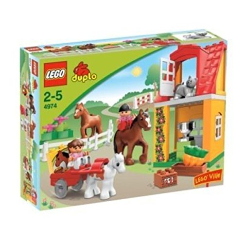 LEGO Duplo 4974 - Pferdestall