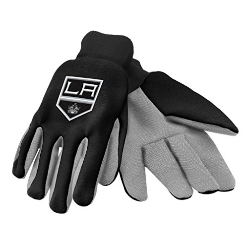 FOCO NHL Los Angeles Kings 2015 farbige Handflächen-Handschuhe, Unisex, NHL 2015 Utility Glove - Colored Palm, Team Color, Einheitsgröße