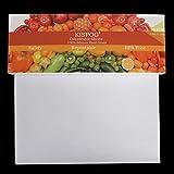 10 unids/set Premium antiadherente silicona deshidratador hojas para alimentos deshidratador máquina, 14x14 pulgadas