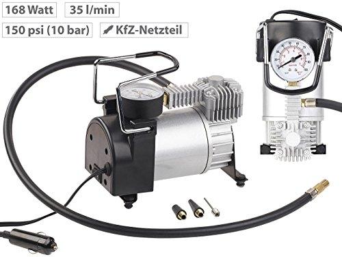 Lescars Mini Luftkompressor 12 V Kfz - 4