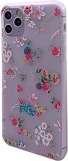 FLORA Funda ultrafina para iPhone 6/6S 7/8 SE X/XS XR 11 Pro Pretty Roses Cover Gran idea de regalo para mujeres
