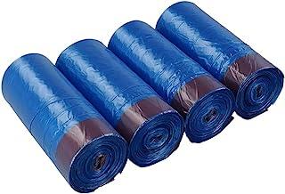Bringer 200 Counts Blue Tall Kitchen Drawstring Trash Bags, 13 Gallon