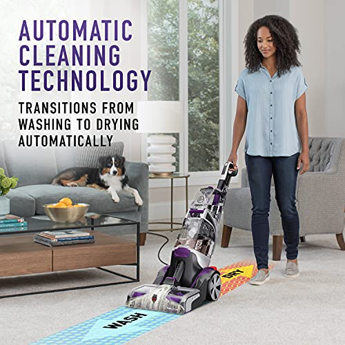 Hoover FH53000PC SmartWash Automatic Pet Carpet Cleaner with Spot Chaser Stain Remover Wand
