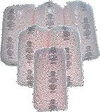 Bubblefast Brand 21 cu. ft. Pink Anti Static Packing Peanuts Popcorn (3.5 cu. ft x 6 Bags)