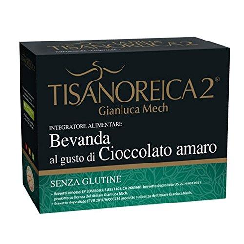 Gianluca Mech - Bevanda Energetica Gluten Free al Gusto Cioccolato Amaro - 130gr
