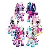 Zoomer Zupps Unicornios pequeños, Unicornio Interactivo con Cuerno Iluminado, para Edades de 4 años en adelante (los Estilos varían)