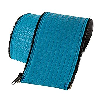 KoolGrips Comfort Cover 6 Foot Neoprene Zippered Hand Grip Rail Slip Cover Sleeve In Ground and Above Ground Swimming Pools 1 Cover Indian Teal Blue