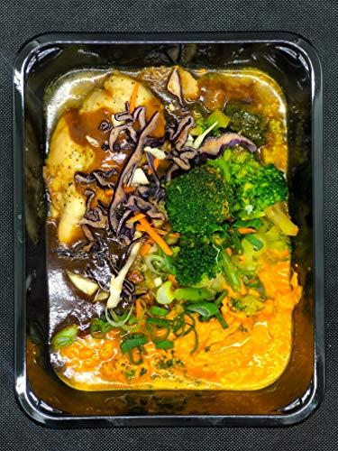 Season Family Fertiggericht Hähnchenbrust-Filet mit Kartoffel-Ingwer-Püree & Gemüse als Fitness Essen I Fertiggerichte für Mikrowelle oder Pfanne unter Schutzgasatmosphäre verpackt I Inhalt 450 g