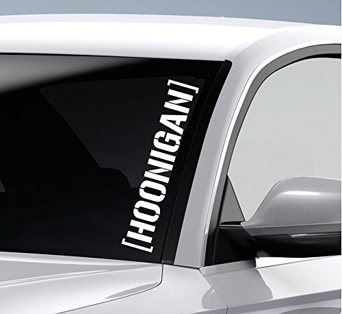 2 x hoonigan – JDM DUB 55 cm (Color a elegir) Decal Tuning Pegatina para coche moto Pick Up