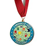 Happy Graduates, I Graduated from Preschool Medallion with...