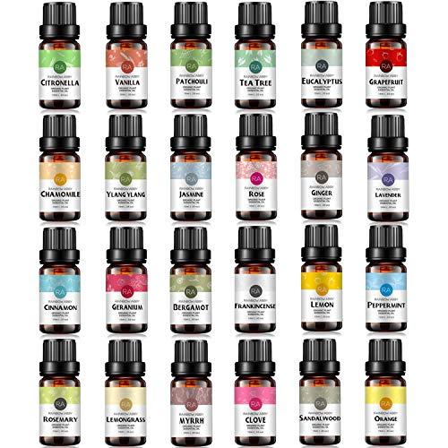 RAINBOW ABBY Top 24 Essential Oil...