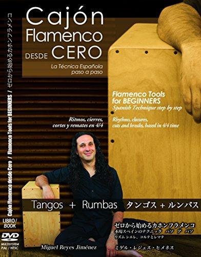 REYES JIMENEZ M. - Cajon Flamenco desde cero (Metodo) para Cajon (DVD)