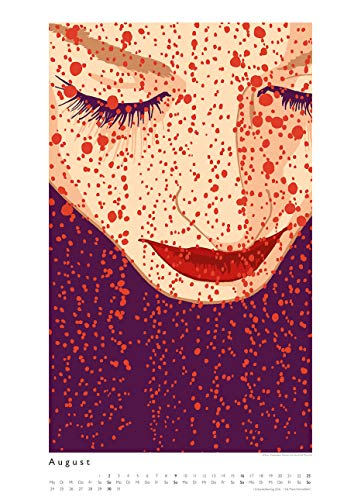 Kat Menschik illustriert Weltliteratur – Literarischer Posterkalender in Bildern 2020 – Wand-Kalender von DUMONT – Format 49,5 x 68,5 cm - 10