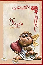 Faye's Journal: Pretty Personalised Name Journal Notebook Gift For Women and Girls with the theme of Love (Valentines Day Cupid Angel), flip through the pages to see beating heart animation