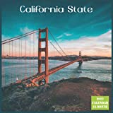 California State Calendar 2022: Official US State California Calendar 2022, 16 Month Calendar 2022
