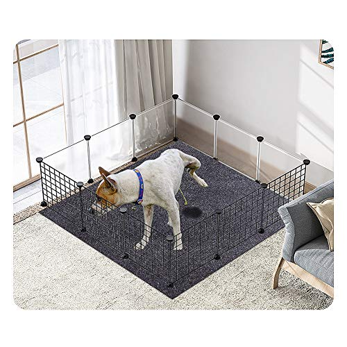 Cibicon Dog and Puppies Bed Mats,Pee Mats for Pets,Dog Crates Mats Soft and Comfortable,Absorbent,Waterproof,Reusable,Washable,Protect Floor Clean(Dog Mats:36inches x 36inches) Beds Furniture
