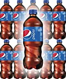 Pepsi Soda, 20oz Bottle (Pack of 10, Total of 200 Fl Oz)