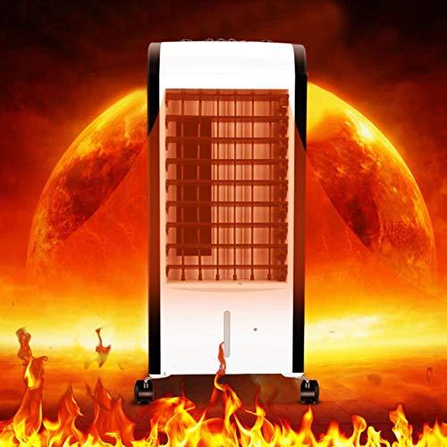 HKDJ luchtkoeler door verdamping met radiator, luchtbevochtiging, mobiel, 3 snelheden, 4 seizoenen, ideaal voor grote ruimtes en kantoren