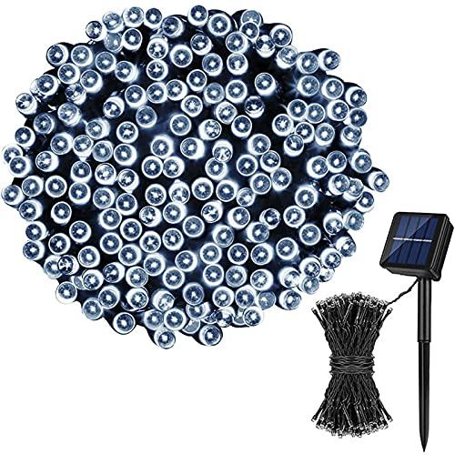 Cadena De Luz Solar Al Aire Libre, 39 Pies 100 Luces De Hadas Solares Led, Utilizadas para Patios Jardines Árboles Decoración De Árboles para El Hogar Productos De Iluminación para Exteriores