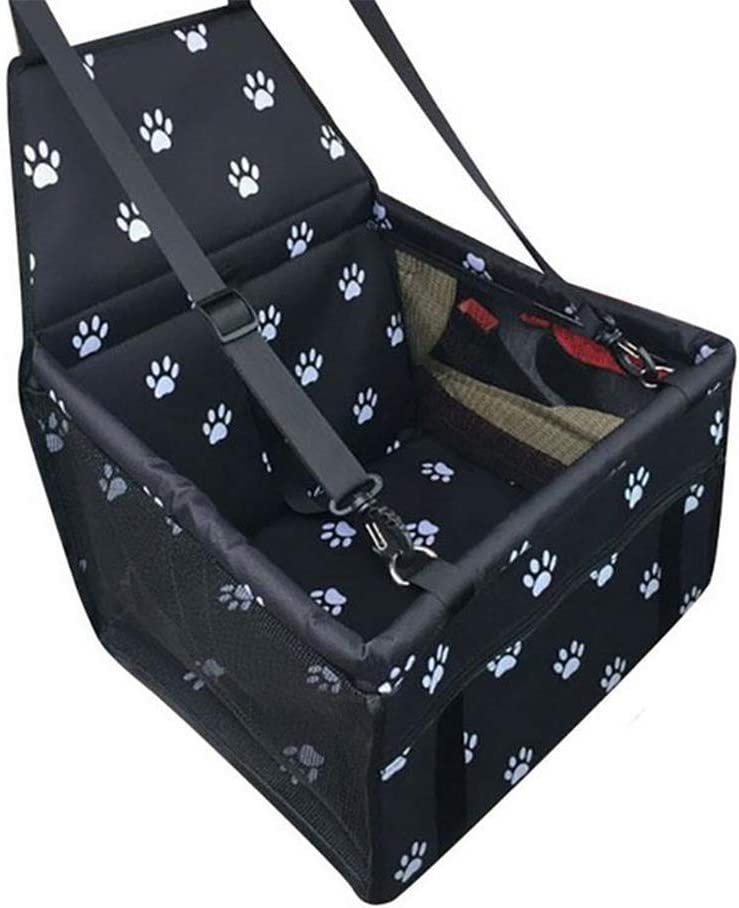 L-M-Yang Pet Car Booster Seat Carrier Cage Max 86% All items free shipping OFF Travel B Adjustable