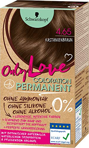 Schwarzkopf Only Love Coloration 4.65 Kastanienbraun, 143 ml