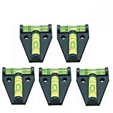 5x RV T Level, YOTOM Cross Check Bubble Level for RVs, Tripods, Machines, Furniture, Trailers