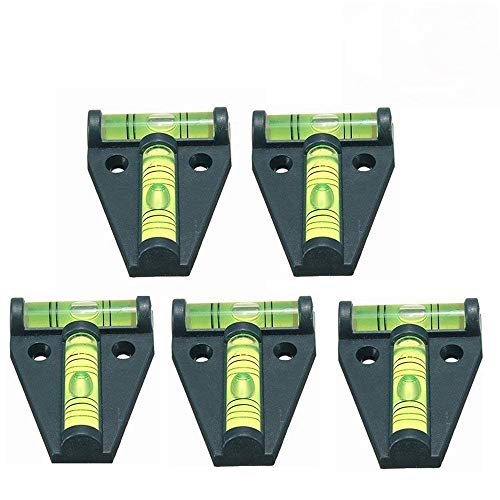5x T Level, YOTOM Cross Check Bubble Level for RV, Tripods, Machines, Furniture, Trailers