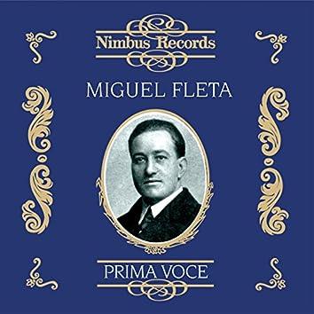 Miguel Fleta (Recorded 1922 - 1927)