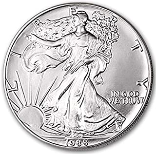 1988 American Silver Eagle $1 Brilliant Uncirculated US Mint