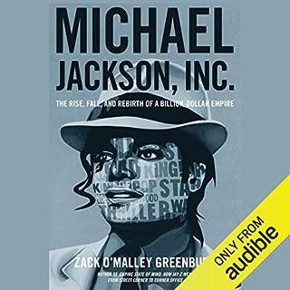 Michael Jackson, Inc. audiobook cover art