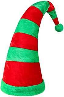 Elf Hat Santa Candy Party Christmas Hats Women Long Hats Headpiece Xmas Elves Classic Party Decoration Cosplay Costume Cut...