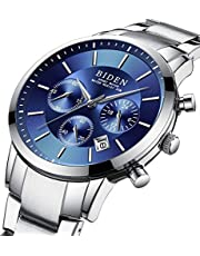 腕時計 メンズ腕時計 ファッション カジュアル ビジネス スポーツ高品質 多機能 クロノグラフ ステンレス鋼防水ローズゴールド アナログ クォーツ時計