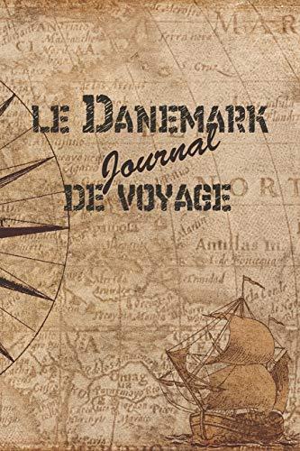 le Danemark Journal de Voyage: 6x9 Carnet de voyage I Journal de voyage avec instructions, Checklists et Bucketlists, cadeau parfait pour votre séjour au Danemark et pour chaque voyageur.