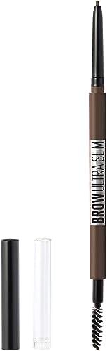 Maybelline Brow Ultra Slim Eyebrow Pencil, Deep Brown, 9g