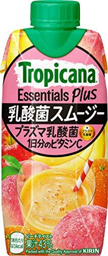 トロピカーナ エッセンシャルズ プラス 乳酸菌スムージー 330ml ×12本