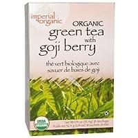 Uncle Lee's Tea, Imperial Organic, Green Tea with Goji Berry, 18 Tea Bags, 1.14 oz (32.4 g)