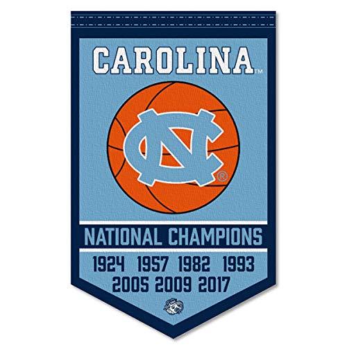 North Carolina Tar Heels Basketball National Champions Banner