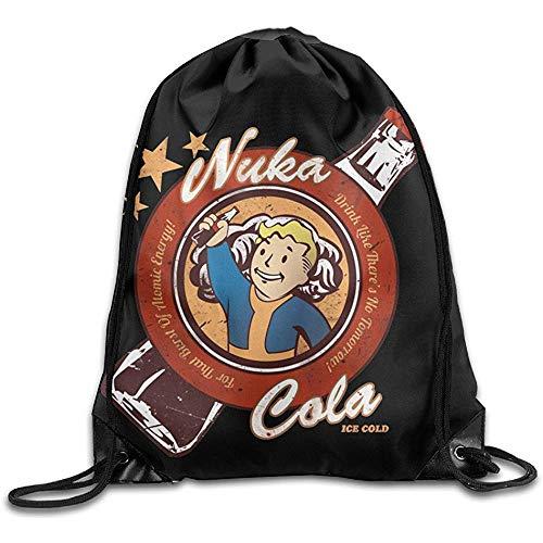 Casual Cinch Pack Kordelzug Rucksack Sack Tasche Fallout 4 Boy Videospiel Heimreise Sport Aufbewahrung Wandern Laufen Taschen