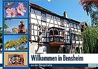 Willkommen in Bensheim an der Bergstrasse (Wandkalender 2022 DIN A2 quer): Bensheim als groesste Stadt des Kreises Bergstrasse bietet Geschichte, viele alte historische Fachwerkhaeuser und gemuetliche Gastlichkeit (Monatskalender, 14 Seiten )