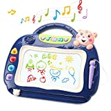 Magnetic Drawing Board Magna Doodle Board with Music for Kids, Magnadoodle Sketch for Toddlers
