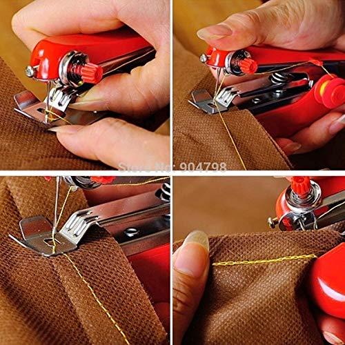 Naaimachines Portable Handwerken Cordless Mini Hand-Held Kleding Stoffen Naaimachine 8 ZHQHYQHHX