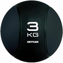 Kettler 07371-260 Medicine Ball - Black, 3 kg