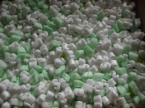Styroporflocken Verpackungsflocken für den Versand - Vorratskartons mit 80 ltr / 250 ltr oder 432 ltr Volumen lieferbar (rekonditionierte Ware) (120)